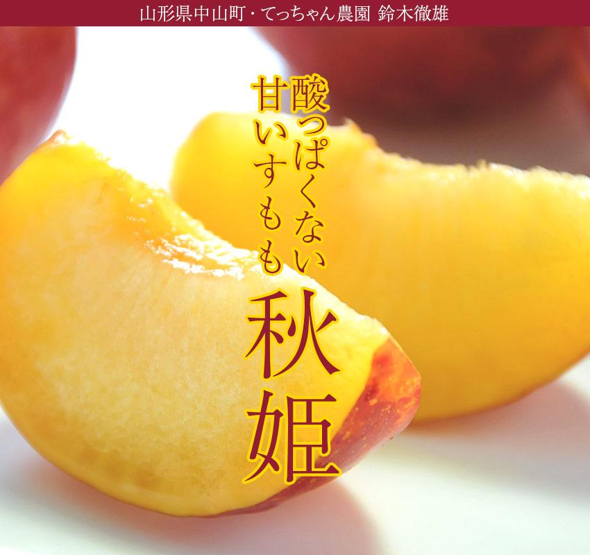 山形県中山町・てっちゃん農園 鈴木徹雄 酸っぱくない甘いすもも「秋姫」